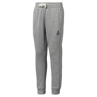 Boys Training Essentials Marble Melange Sweatpant Skull Grey DJ3082