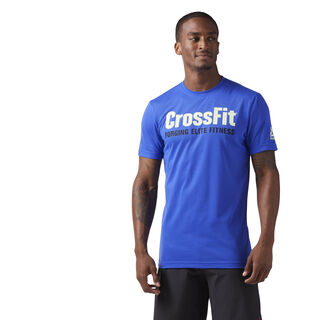 Reebok CrossFit Forging Elite Fitness Tee Acid Blue CF4545