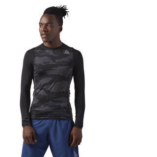 Long Sleeve Compression T-Shirt Black CF8900