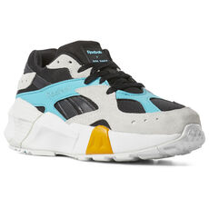 Reebok - Aztrek Double x Gigi Hadid Black   Blue   Grey   Gold DV5387 ccfcfa057