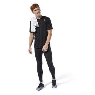Run Essentials Tee Black DU4281