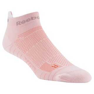 Reebok ONE Series Running Unisex Ankle Sock White / Atomic Red D68175