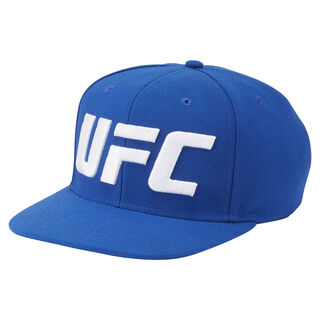 UFC Ultimate Fan Flat Brim Snapback Hat Graphic Print AL2063