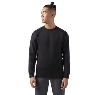 Training Supply Crewneck Sweatshirt Black CD5186