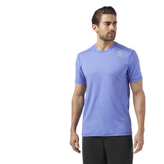 Reebok CrossFit Burnout Tee Purple/Acid Blue CD4488