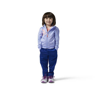 Girls Essentials Tracksuit Lilac Glow BQ9738
