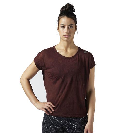 Reebok - T-shirt Burnout Burnt Sienna BQ9680