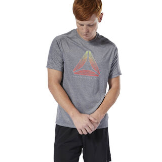 Running Reflective Move Tee Black DU4289