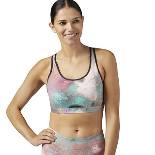 Hero Power Sports Bra Multicolor/Emerald Haze BQ8182