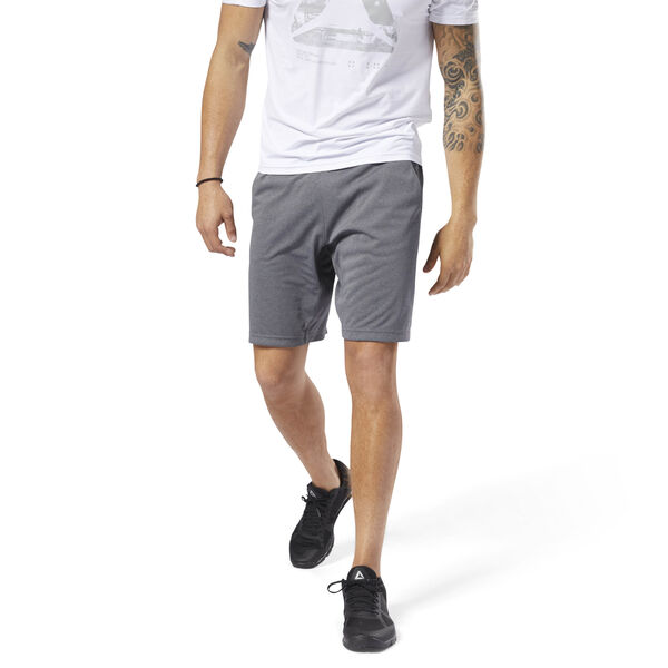 SpeedWick Knitted Shorts Grey D93786
