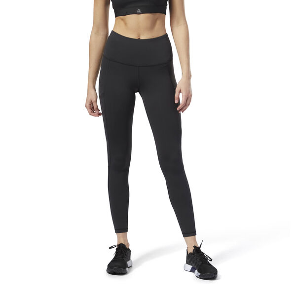 32a22042c7 Reebok Cardio High Rise Tights - Black