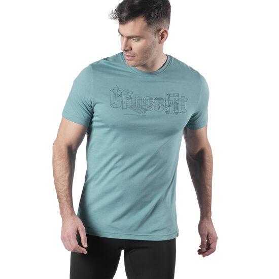 Reebok - T-shirt Reebok Science CrossFit® Mineral Mist EA3195