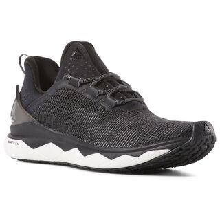 Reebok Floatride Run Smooth Strch-Black/White/Tin Grey CN6310