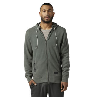 The Noble Fight Washed Hoodie Iron Stone BQ5692
