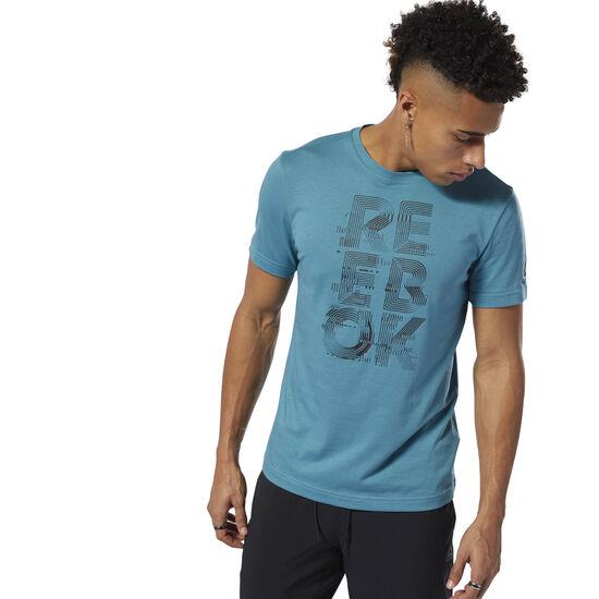 Reebok - T-shirt à col rond Futurism Reebok Mineral Mist DU4694