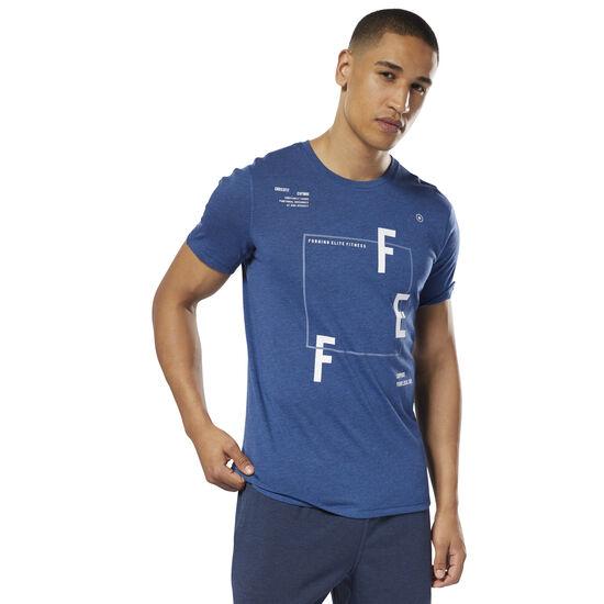Reebok - Reebok CrossFit MOVE T-Shirt Bunker Blue D94892