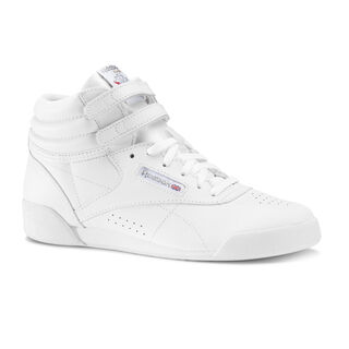 Freestyle Hi - Children White/Silver CN2553
