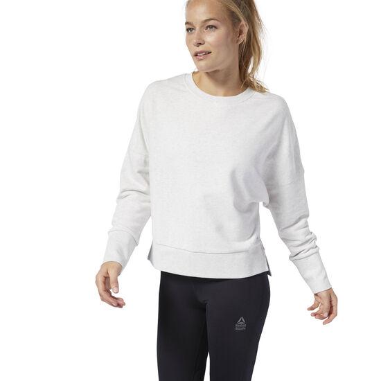 Reebok - Reebok CrossFit® Terry Crew Sweatshirt Whtmel DQ0040