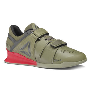 Reebok Legacy Lifter Hunter Green/Coal/Primal Red/Chalk BS8216