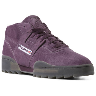 Workout Clean Mid Ripple Urban Violet/Black DV4107