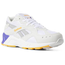 e1943d5cc37f Reebok - Aztrek White True Grey Solar Gold Team Purple DV3912