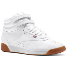 Reebok - Freestyle Hi WHITE   GUM CN2392. Freestyle Hi Women Classics f1b85fa27