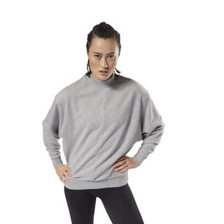 Training Essential Crew Medium Grey Heather CY3591