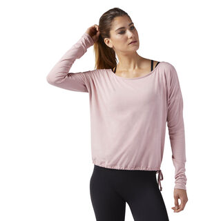 Nature X Long Sleeve T-Shirt Chalk Pink CF8742