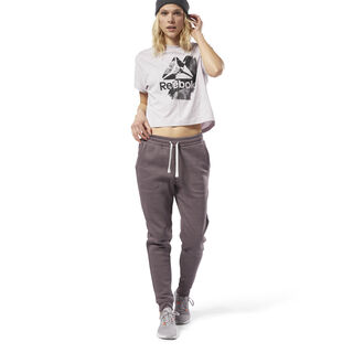Training Essentials Marble Pants Almost Grey CY3604