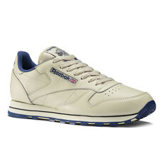 0c9ca106886 Reebok - Classic Leather Shoes Intense Ecru Navy 28412