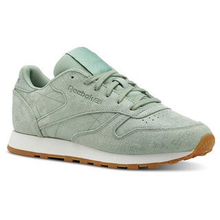 Classic Leather Exotics-Industrial Green/Chalk CN4987