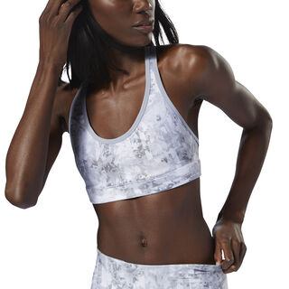 Reebok Hero Run Bra Padded Cool Shadow D98849