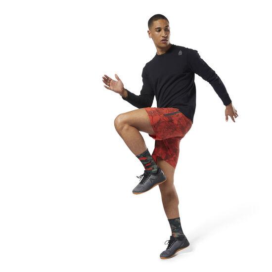 Reebok - Reebok CrossFit Speed Shorts – Stone Camo Burnt Amber DM5670