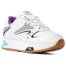 bb4253965f4 Reebok - Classic Leather ATI 90s White   Teal   Aubergine   Blk DV5376