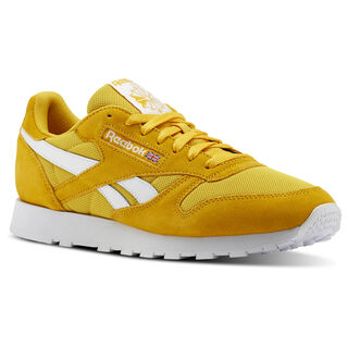 Classic Leather Estl-Fierce Gold/White CN5017