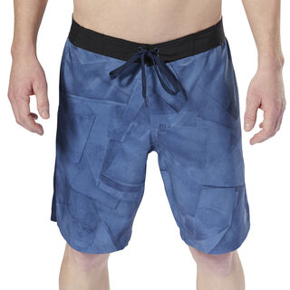 Workout Ready Graphic Board Shorts Bunker Blue D94273