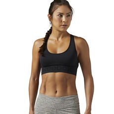 911e4820f24dd Reebok - Workout Ready Seamless Sports Bra Black CE7789 ...