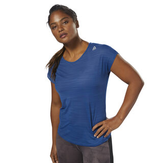 Workout Ready ACTIVChill Tee Bunker Blue D95080