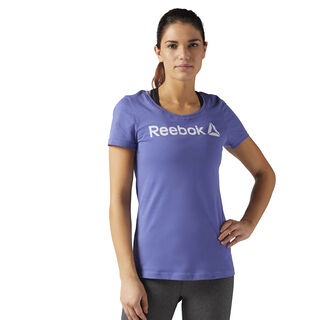 Reebok Scoop Neck Tee Lilac Shadow BR2891