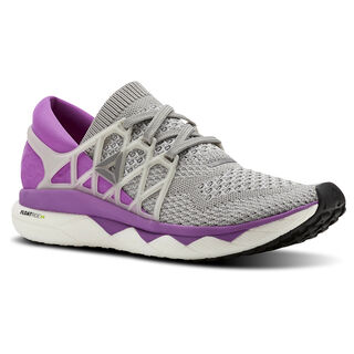 Custom Floatride Run Light Grey Heather/Medium Grey Heather/Vicious Violet BS8185