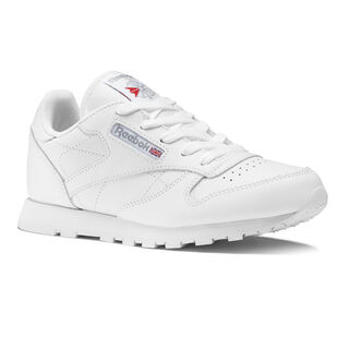 Classic Leather - Pre-School White 50172
