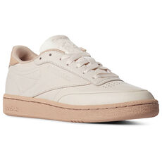 cd4e7895867f Reebok - CLUB C 85 Pale Pink Dusty Pink Neon Red CN8644