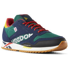 f87a41ade3b251 Reebok - Classic Leather Ripple Altered Green   Red   Yellow DV7193