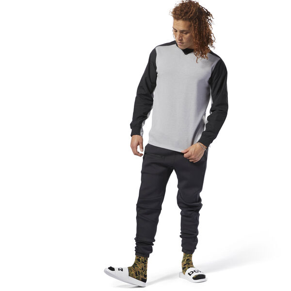 Training Supply Crewneck Sweatshirt Grey CY4915
