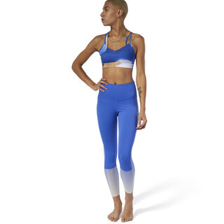 Леггинсы Yoga Ombre crushed cobalt DU4474