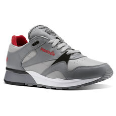 Reebok - Classic Leather II Foggy Grey Mgh Solid Grey Excellent Red White 56a25596b