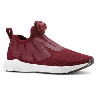 Reebok Pump Supreme Ice-Rustic Wine/Cranberry Red/Black/White CN4761