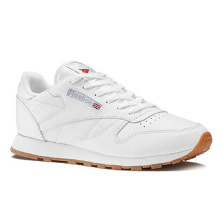 Classic Leather Intense White/Gum 49803