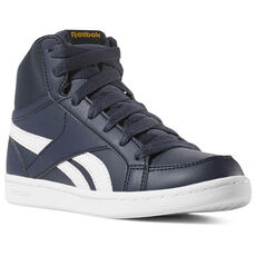 81833e88d553 Reebok - Reebok Royal Prime Mid - Pre-School Collegiate Navy White Grey