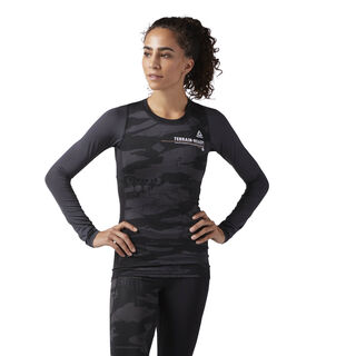 Speedwick Long Sleeve Compression T-Shirt Black CE1366